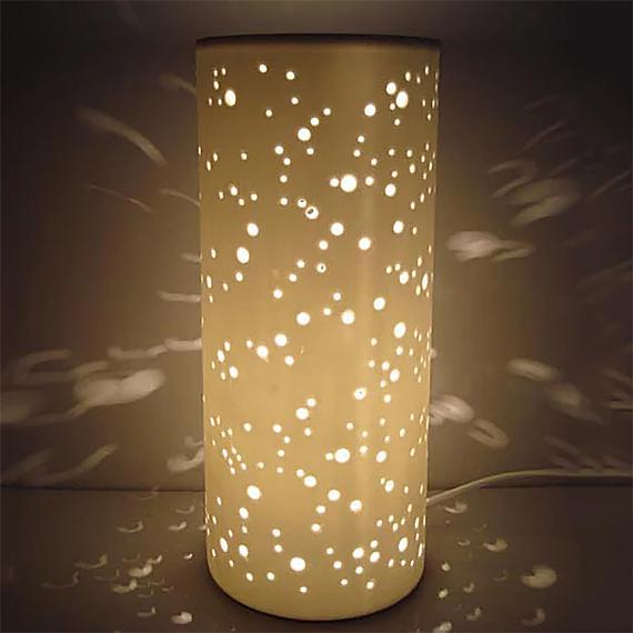 Ceramic Lamp Constellation designed in Australia by delight decor