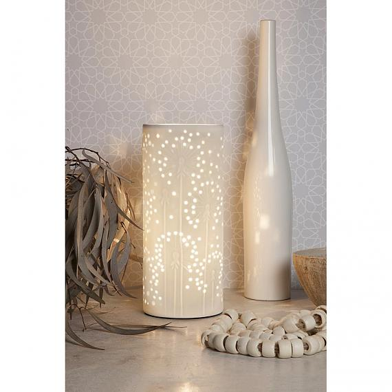 Ceramic Lamp Dandelion designed in Australia by delight decor