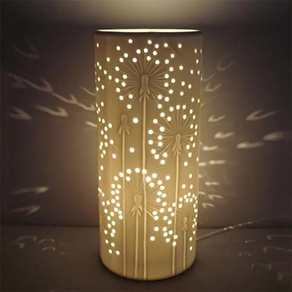 Ceramic Lamp Dandelion designed in Australia by delight decor