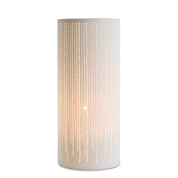 Ceramic Lamp Dots Cylinder designed in Australia by delight decor