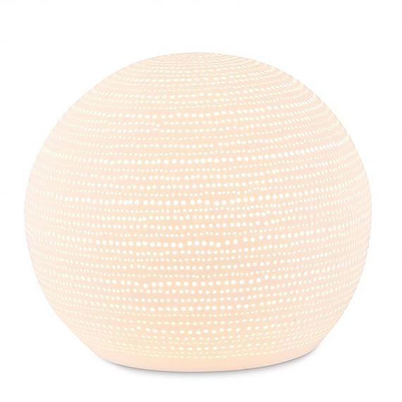 Ceramic Lamp Dots Sphere designed in Australia by delight decor