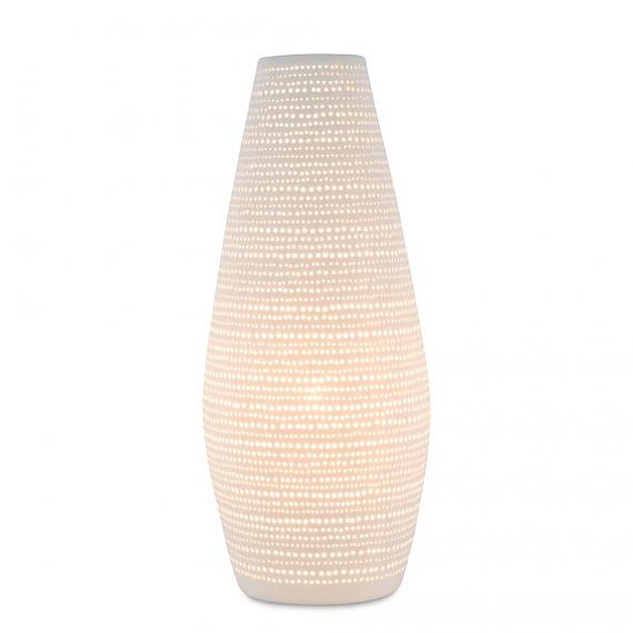 Ceramic Lamp Dots Vase designed in Australia by Delight Decor