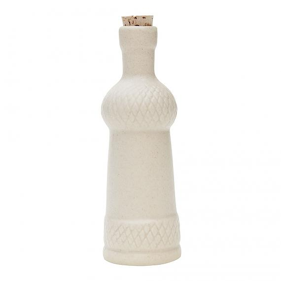 Braid Ceramic Bottle - Cream Matte designed in Australia by Love Hate