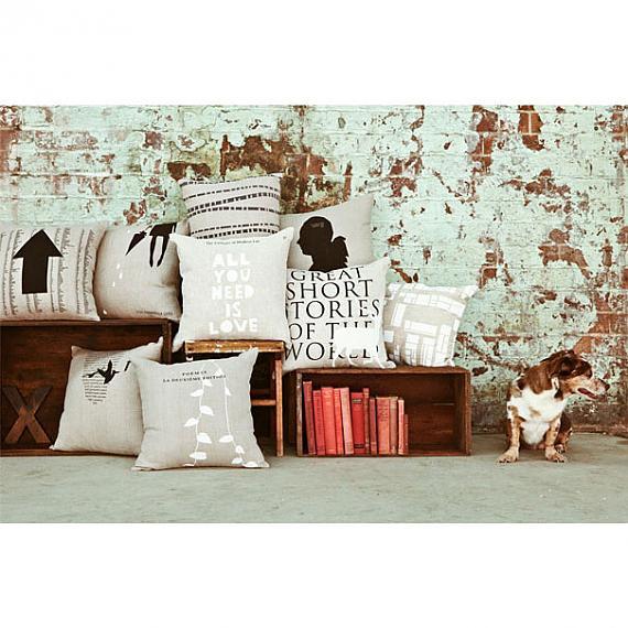 Cushions handmade in Australia by me and amber