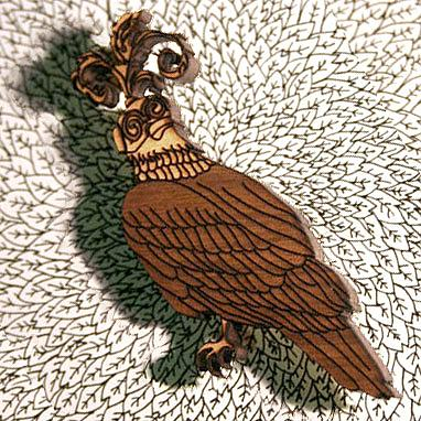 An Eagle Brooch by Bonnie Poplar