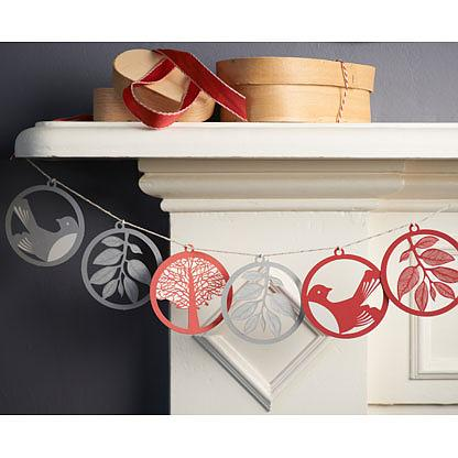 Eco Deco Kit Christmas Red + Silver by Polli