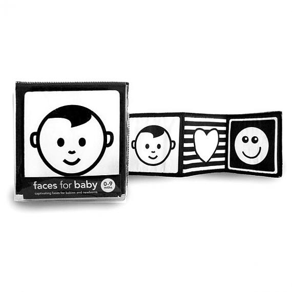 Faces for Baby Cloth Book by Katey Love, author of Mesmerised