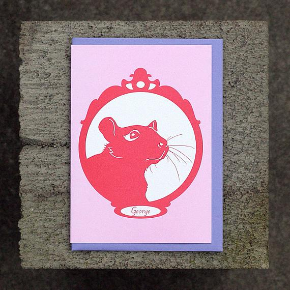 George Greeting Card by Non-Fiction