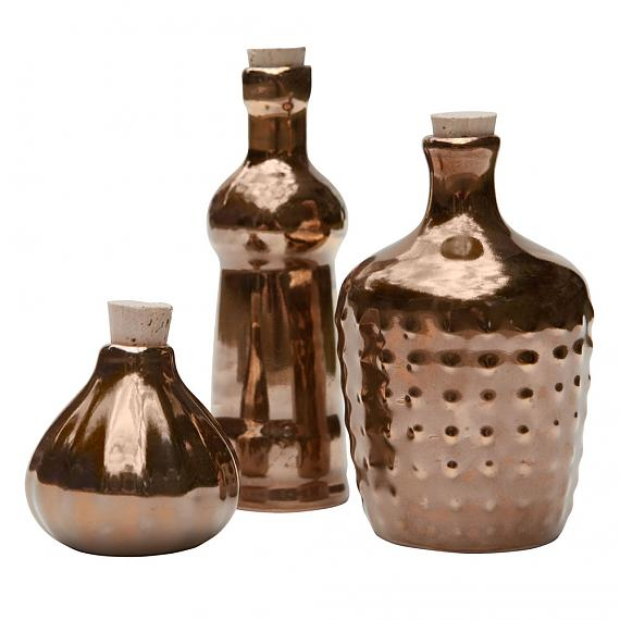 Limited Edition Gold Ceramic Bottles designed in Australia by LoveHate