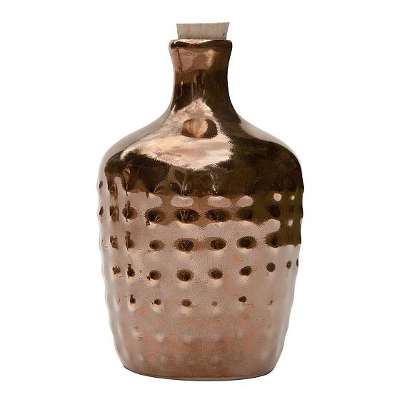 Limited Edition Gold Polka Ceramic Bottle designed in Australia by LoveHate