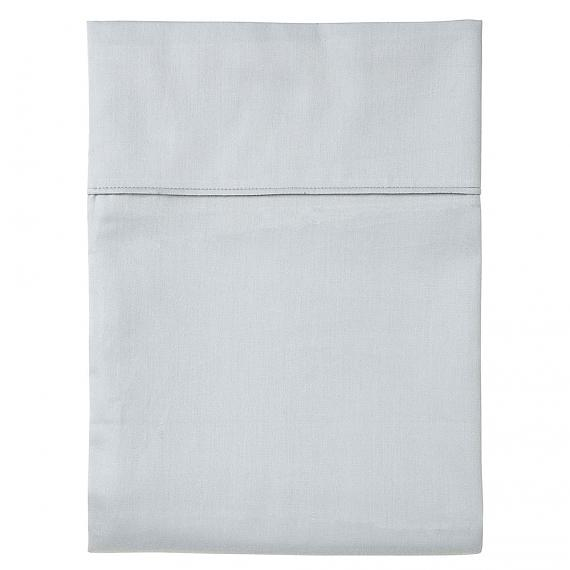 Plain Grey Fitted Sheet - Single - designed in Melbourne by Goosebumps