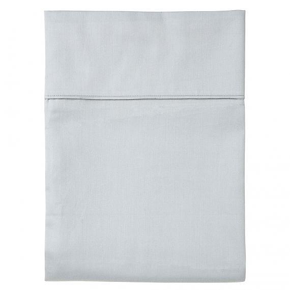 Plain Grey Flat Sheet - Single - designed in Melbourne by Goosebumps