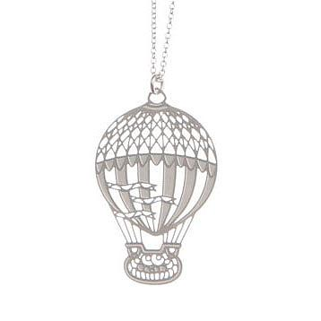 Hot-Air Balloon Stainless Steel Pendant by Polli