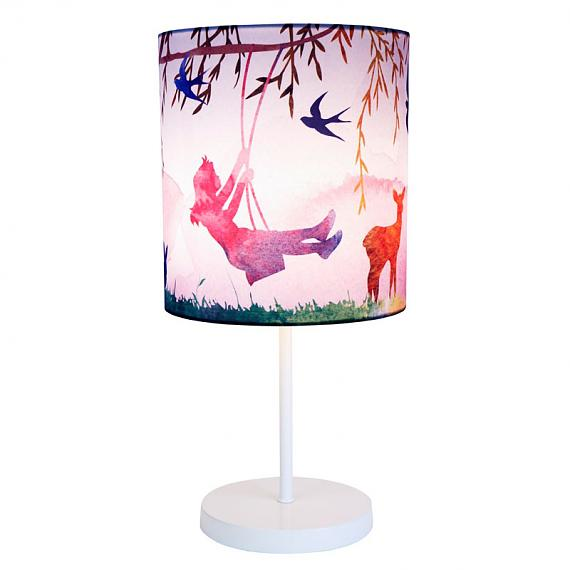 Little Girl Print Lamp by Micky and Stevie