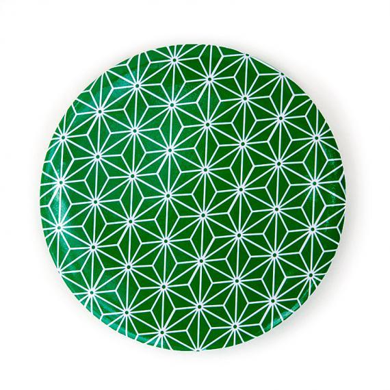 Pocket Mirror Green Star Pattern by Love Hate