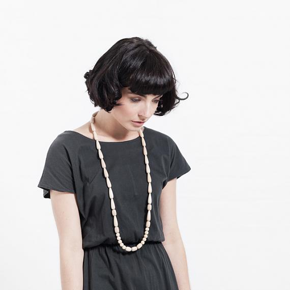 Seed Necklace - Natural handmade in Melbourne by mooku