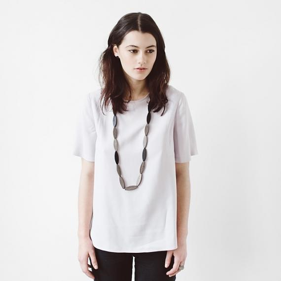Sea Tangle Necklace - Black | Greywood, designed in Melbourne by mooku