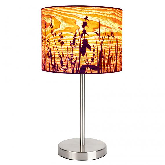 Meadow Nickel Table Lamp designed in Australia by Micky & Stevie