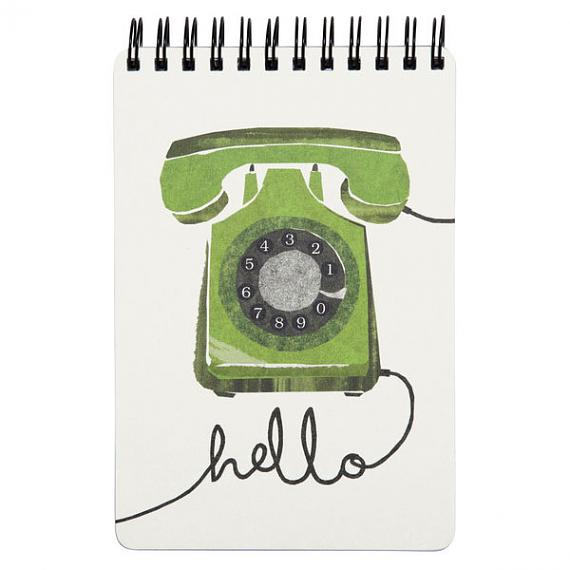Phone Notebook by I Ended Up Here