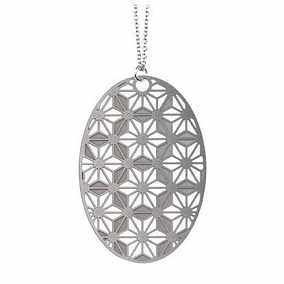 Origami Stainless Steel Pendant (Medium) by Polli
