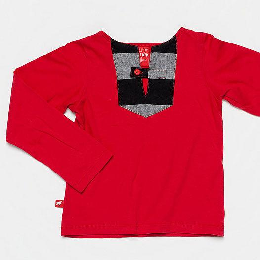 The Pilot Top - Red by Knuffle Kid