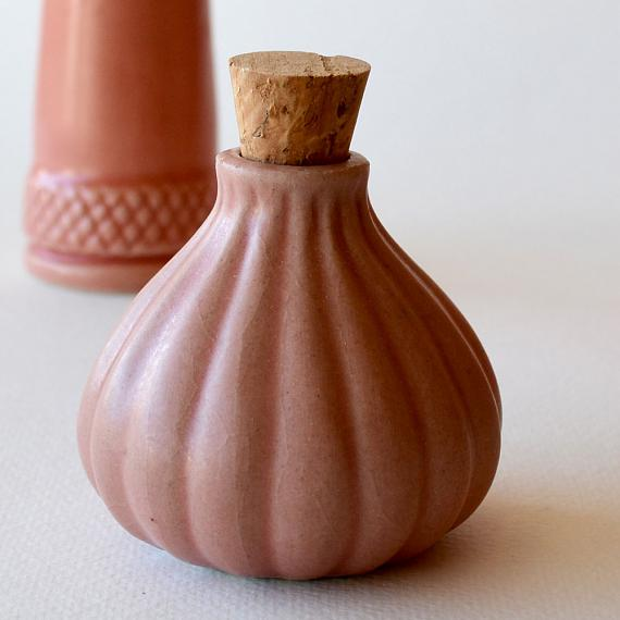Sea Anenome Ceramic Bottle - Fairy Floss Pink designed in Australia by Love Hate
