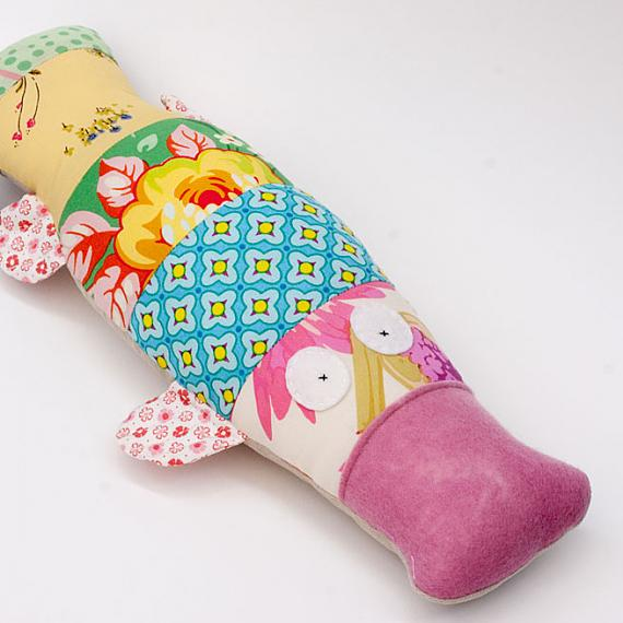 Platypus - pink & yellow by Two Little Banshees