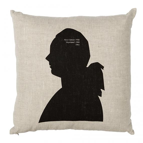 Portrait Cushion - Natural, handmade in Australia by me and amber