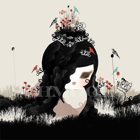 Princess Print by Schmooks