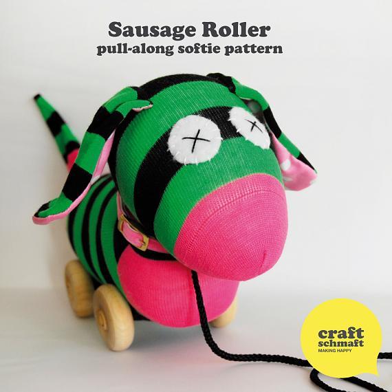 Sausage Roller Pattern