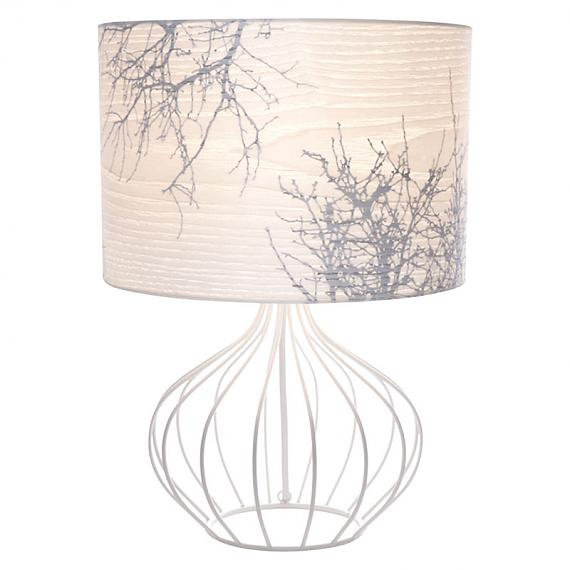 Short Winter White Table Lamp by Micky & Stevie