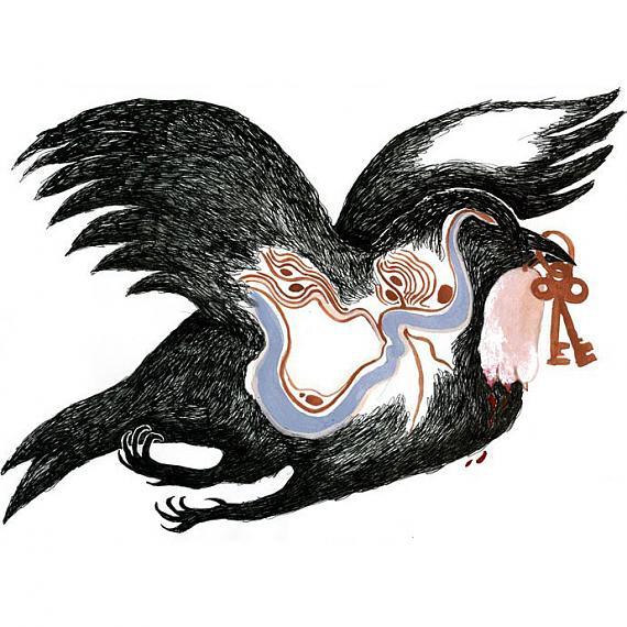 Detail of Sibylline Print by benconservato