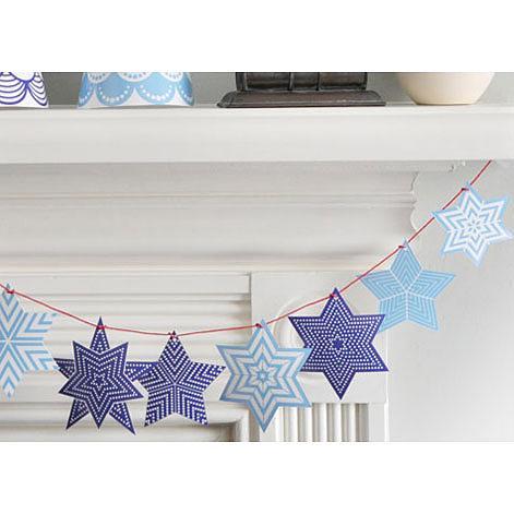 Star Deco Kit Blue by Polli