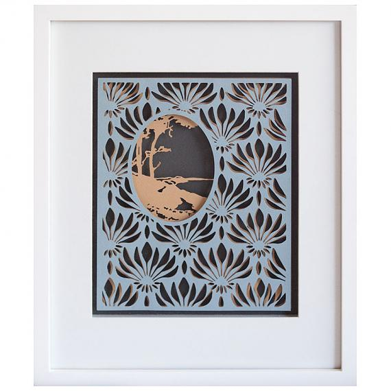 Tree Limited Edition Layered Paper Cut by Love Hate
