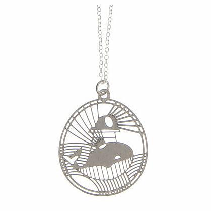 Whale Stainless Steel Pendant by Polli