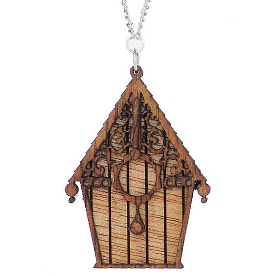 Wooden Birdhouse Pendant designed in Australia by Love Hate